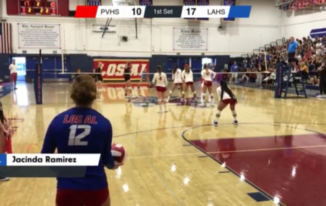 Palos Verdes Varsity Girls VB comes to Los Al to get demolished by Abby Karich's High Flying Offense and Jacinda Ramirez' Rock Solid Defense