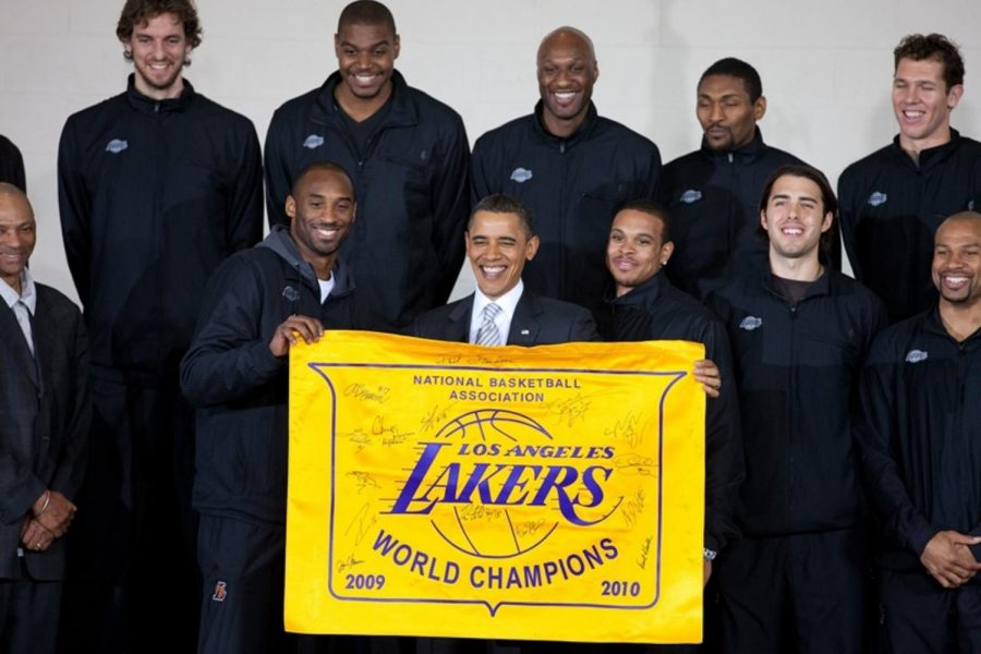 The+Los+Angeles+Lakers+are+on+top+of+the+Western+Conference+for+the+first+time+in+years.