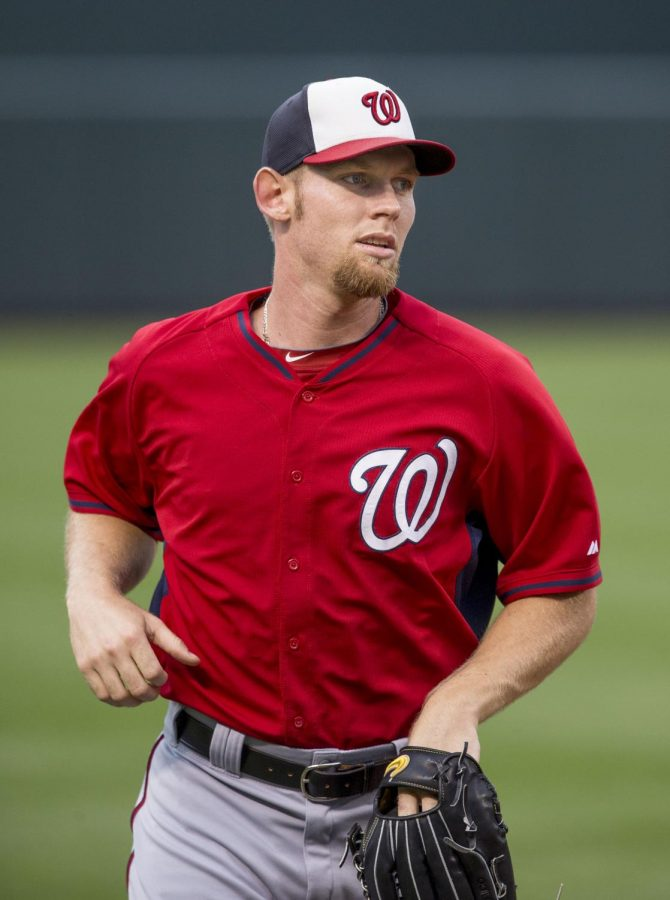 Stephen+Strasburg+has+been+a+Washington+National+since+2009%2C+when+he+was+drafted+by+them.
