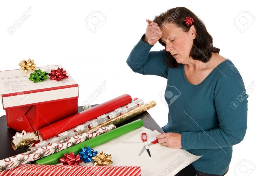 Wrapping+gifts+is+more+of+a+hassle+than+you+think.+%28Photo+Courtesy+of+123RF%29