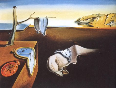 "The famous painting ""The Persistence of Memory"" by Salvador Dali shows how dreams are odd but still have elements of reality in them.  (Photo Courtesy of Wallpaper Flare)"