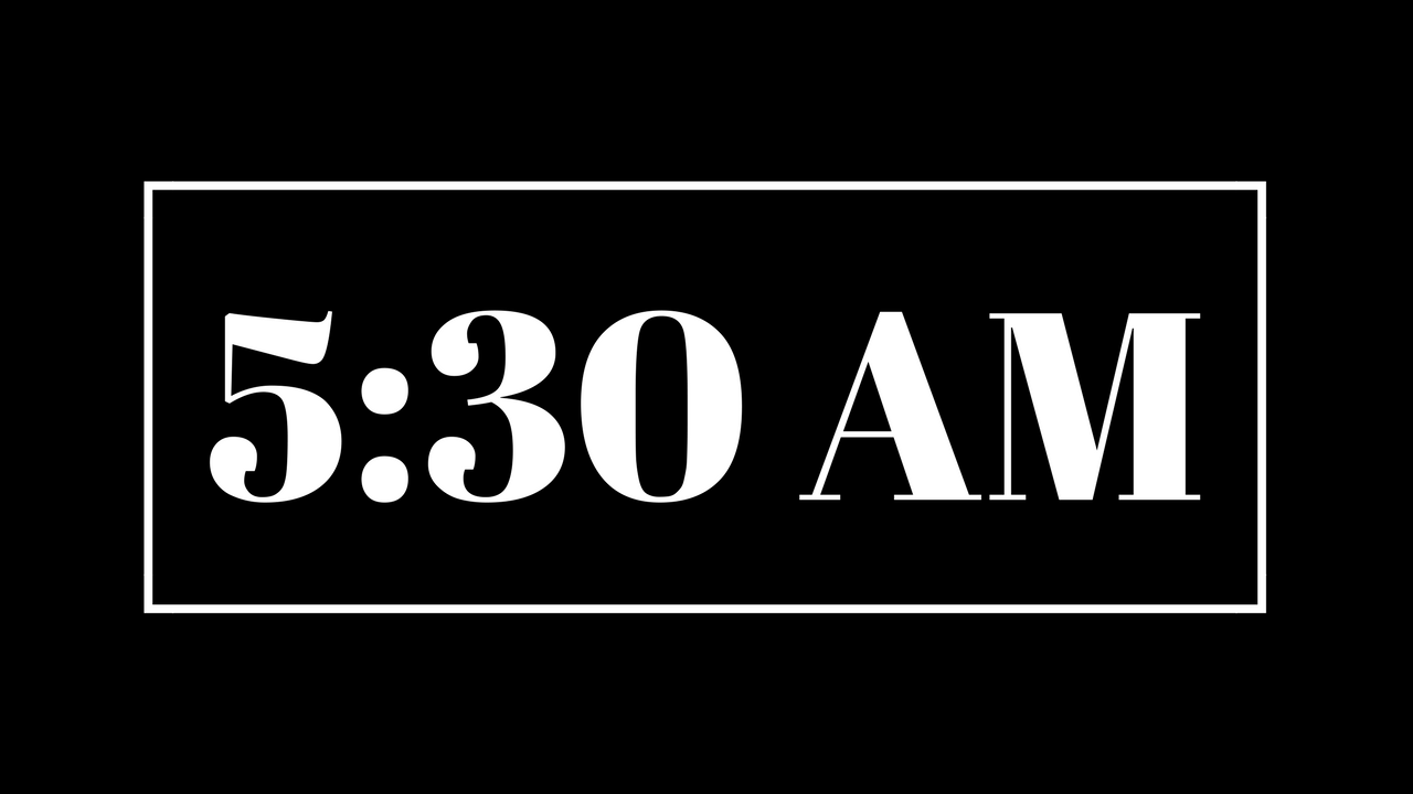 Are Morning Practices Worth It?